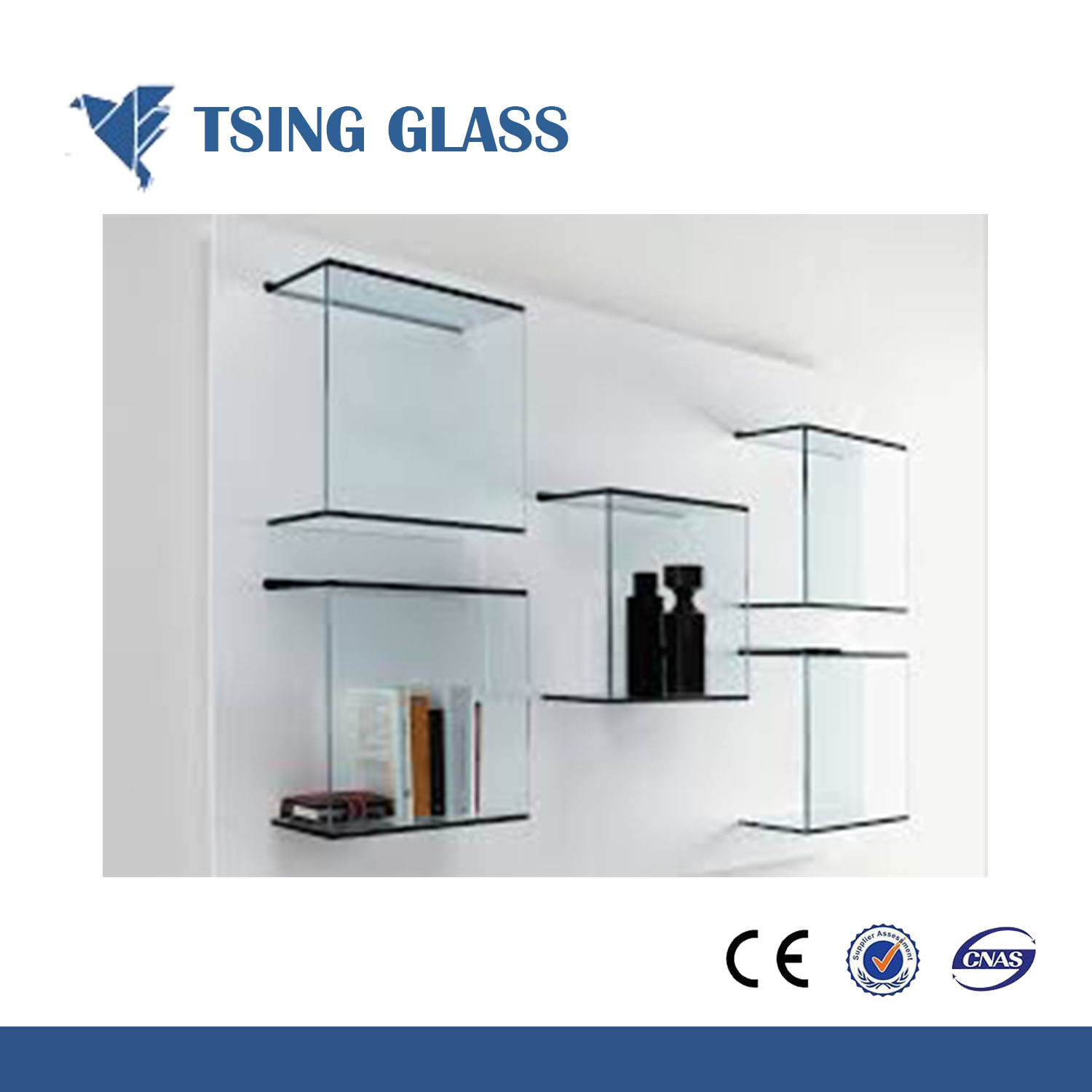China 6-12mm Home Corner Decorative Shelf Glass Photos & Pictures ...