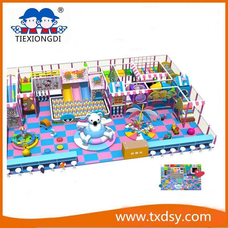 Large Soft Naughty Castle Txd16-ID097 for Indoor Playground