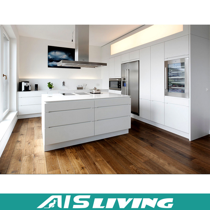 China Customized Mdf High Gloss Acrylic Kitchen Cabinet Furniture Ais K035 Cabinets