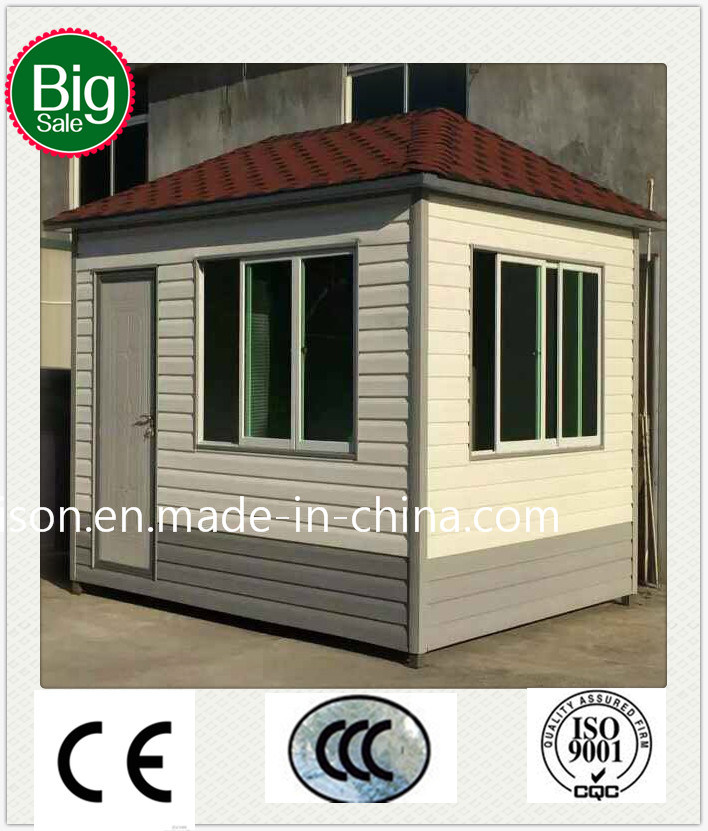 Economical Mobile Prefabricated/Prefab Guard House pictures & photos