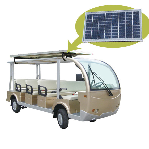 [Hot Item] Solar Panel Electric 11 Seater Routine Car