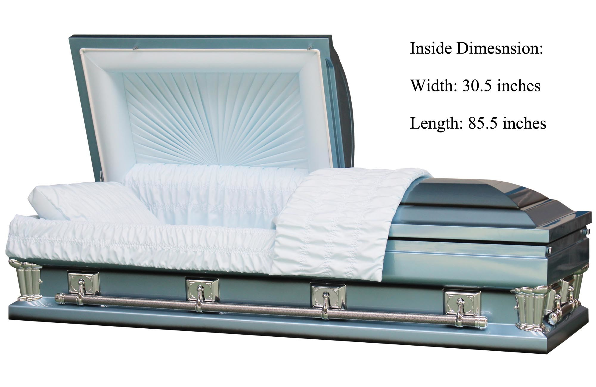 18ga Steel, Round Corner, USA Royal Bronze Casket