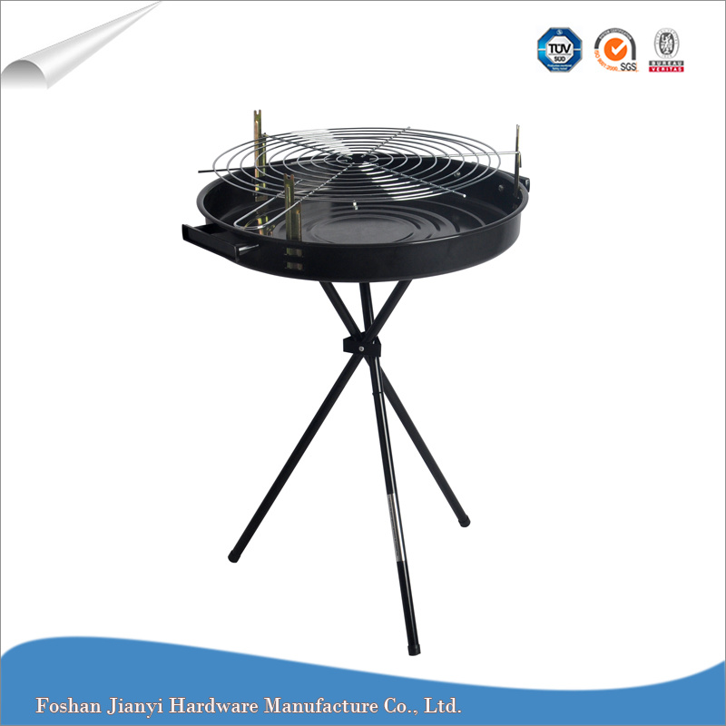 China Small Round Simple Charcoal Barbeque Grill Outdoor Bbq