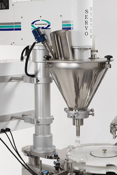 Automatic Coffee Powder Bottle Filling & Capping Machine