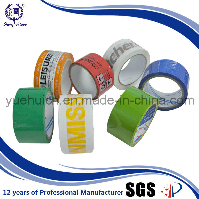 Offer Printed Your Brand Company Logo Custom Printed Tape pictures & photos