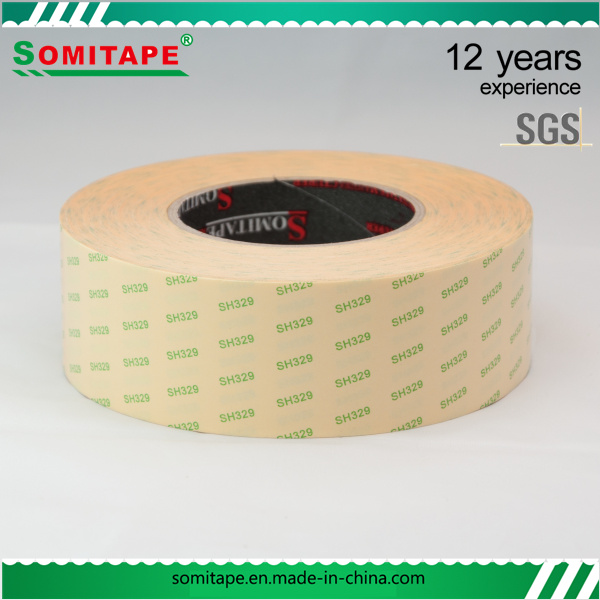Sh329 High Standard Waterproof Tissue Double Sided Tape for Photo Album Lightbox Somitape