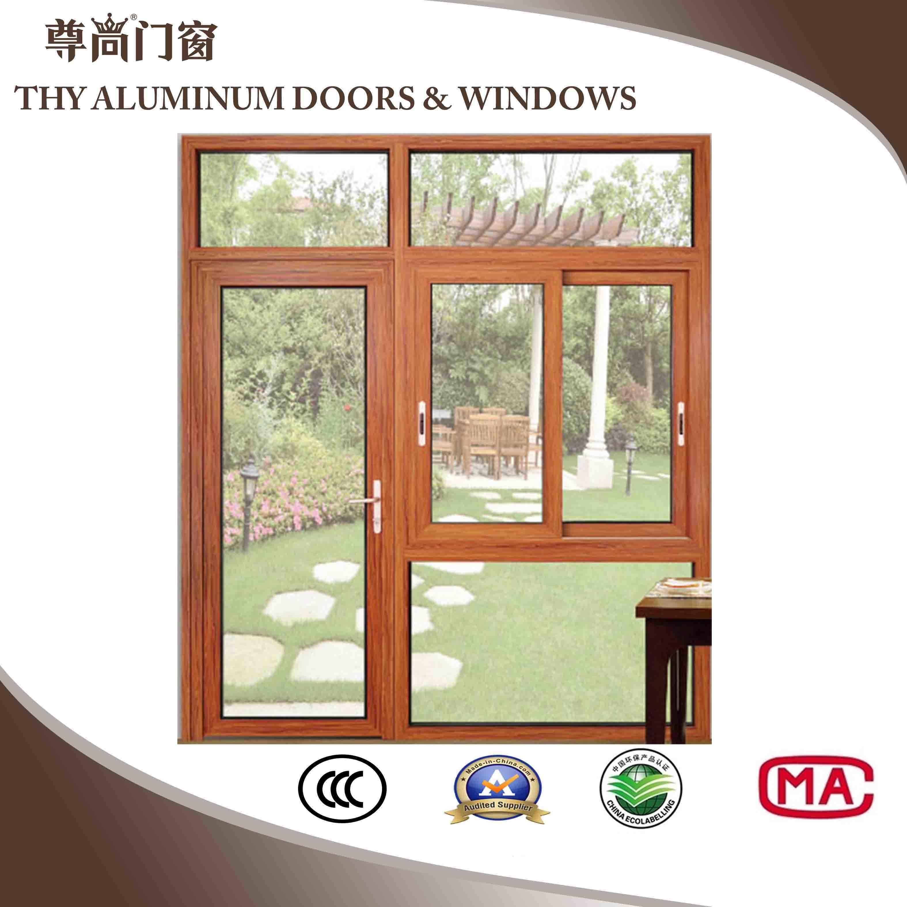 China 2019 New Style Aluminum Windows Doors Aluminium