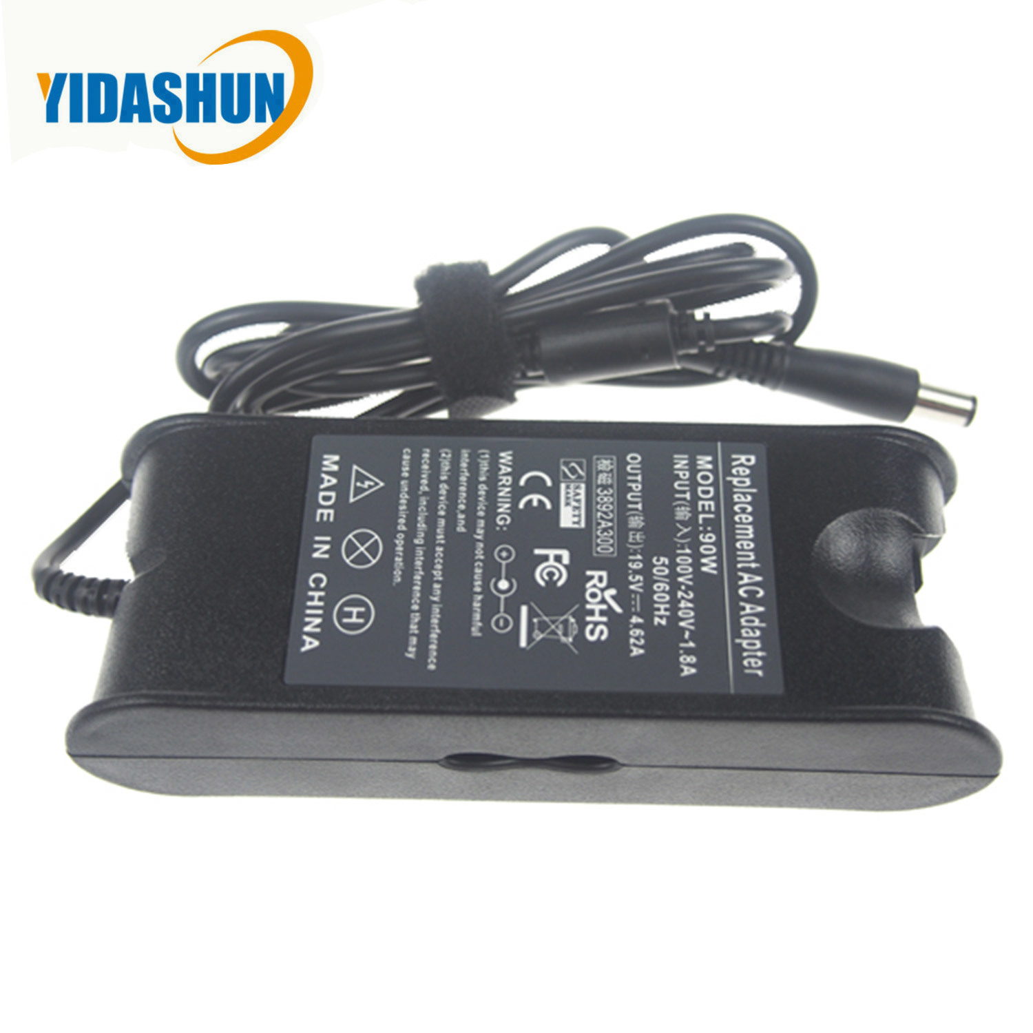 [Hot Item] Power Supply 90W Laptop Charger Adapter 19 5V for DELL