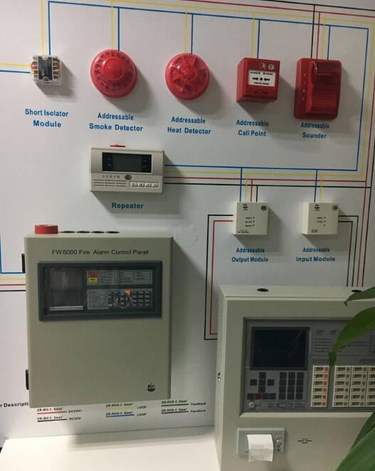 china detect fire location networking industrial addressable fire alarm  control panel photos & pictures - made-in-china.com  shenzhen puzhesi technology co., ltd.