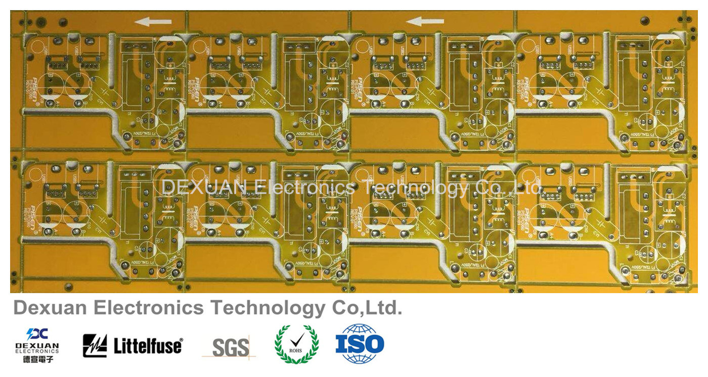 China Multilayer Printed Circuit Board Pcb With Yellow Solder Mask Production Buy Boardpcb For Electronics