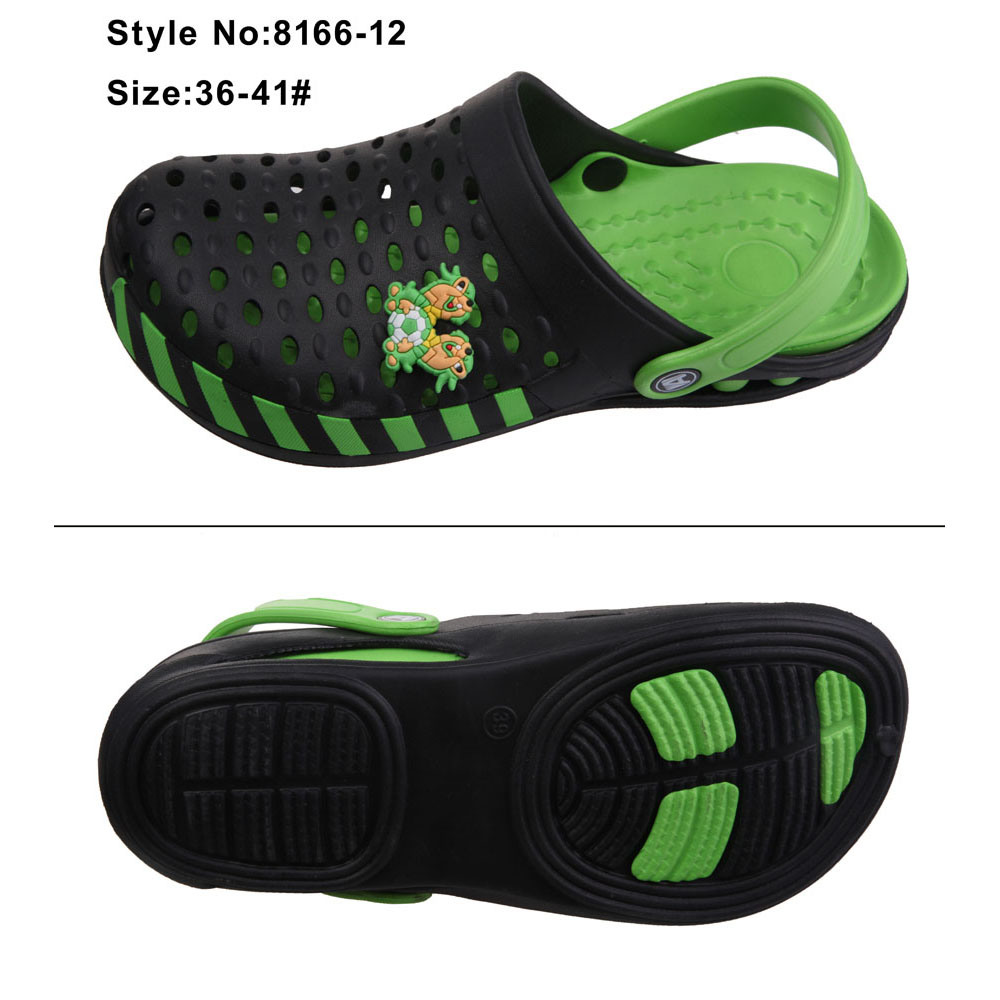 Two Tone Holey Breathable Women EVA Garden Clogs pictures & photos