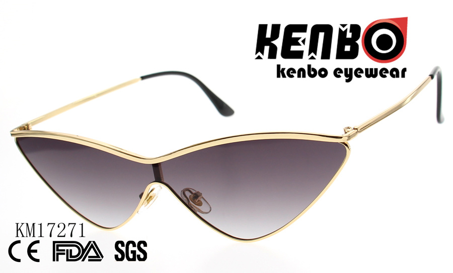 1cc6a4f31500 China Cat Eye Sunglasses with One Piece Lens Km17271 Photos ...