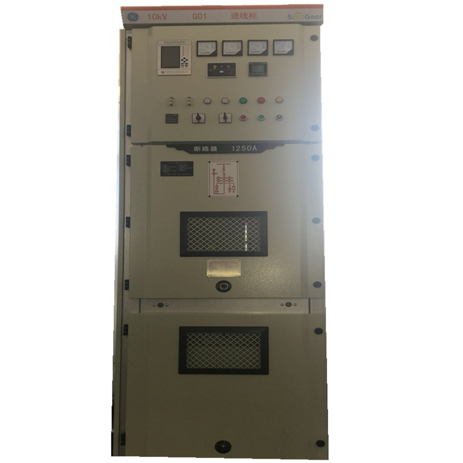 china ge 12kv authorized power distribution control and