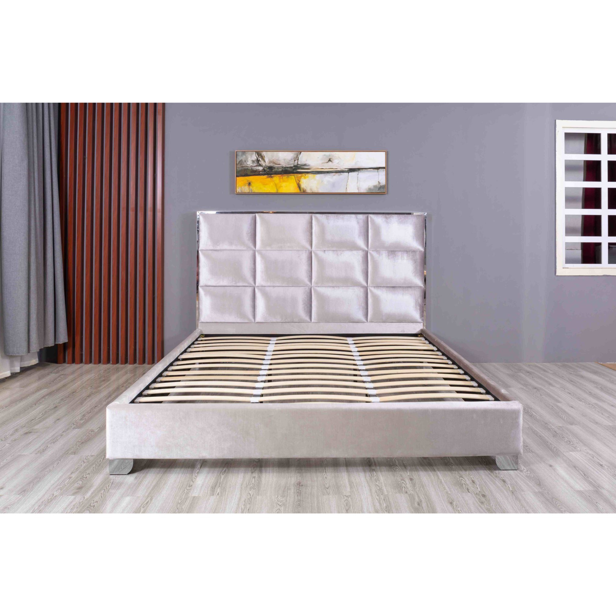 Modern Bed Frames King Bed Leather Bed Chinese Furniture China Bedroom Bed Living Room Furniture