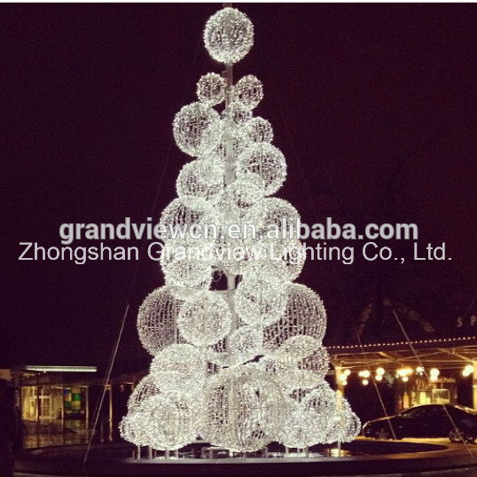hot sale christmas led ball tree
