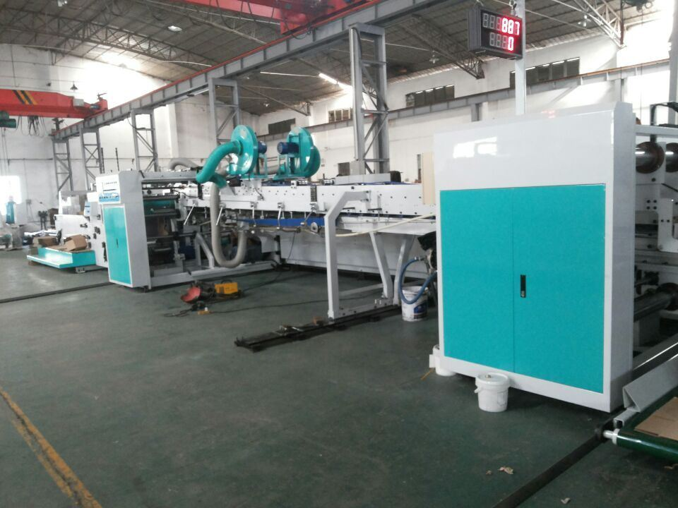 Flexo Printer Gluer Stitchier Machine pictures & photos