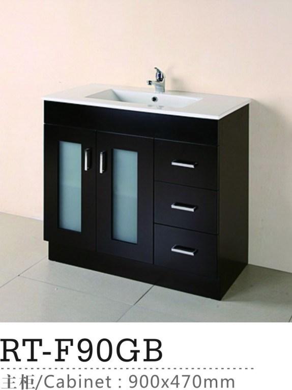 pvc bathroom cabinets china pvc bathroom vanity bathroom cabinets rt f90gb 25019