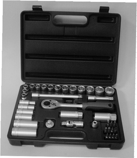 Hot Sale-40PCS Professional Socket Kit Tool Set pictures & photos