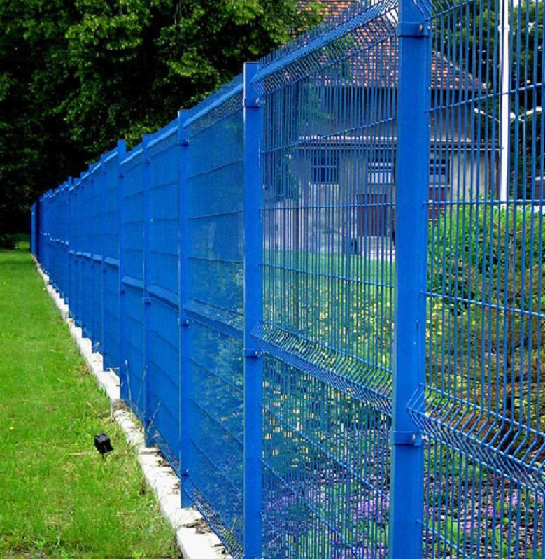 China Powder Coated Welded Curved Fence Panel/Nylofor 3D Fence ...