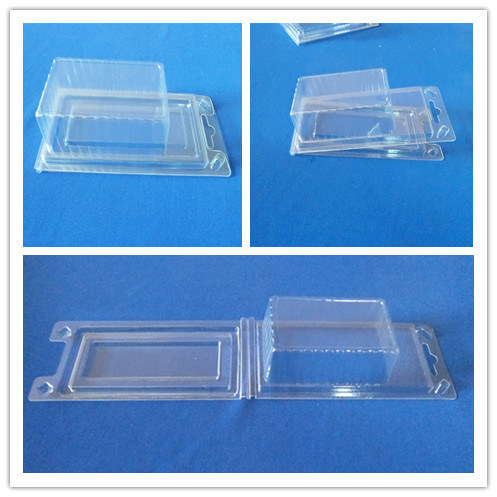 Plastic Packing Box for Hardware Parts Clear Pet Blister Packing Box