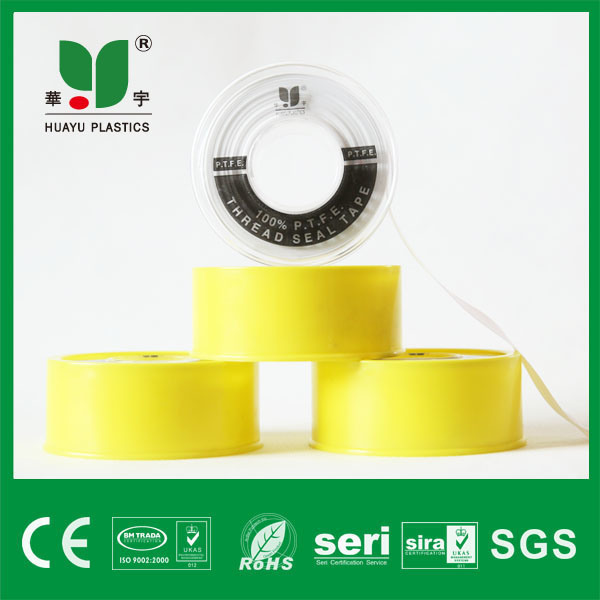 12mm High Demand High Temperature PTFE Thread Seal Tape