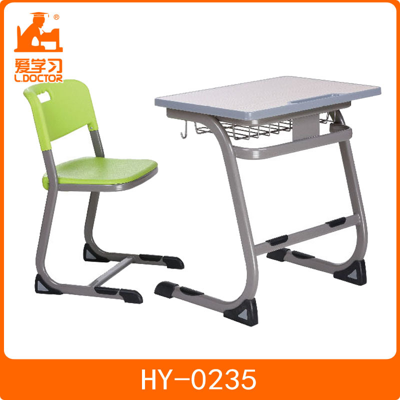 China Modern Student Desk And Chair For Middle School