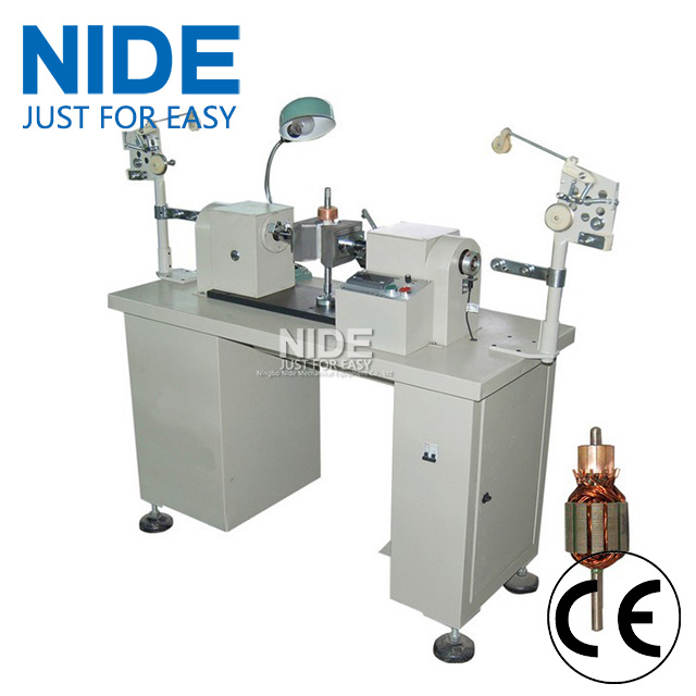 China Double Flyer Automatic Ceiling Fan Ar Rotor Coil Winding Machine Coiling