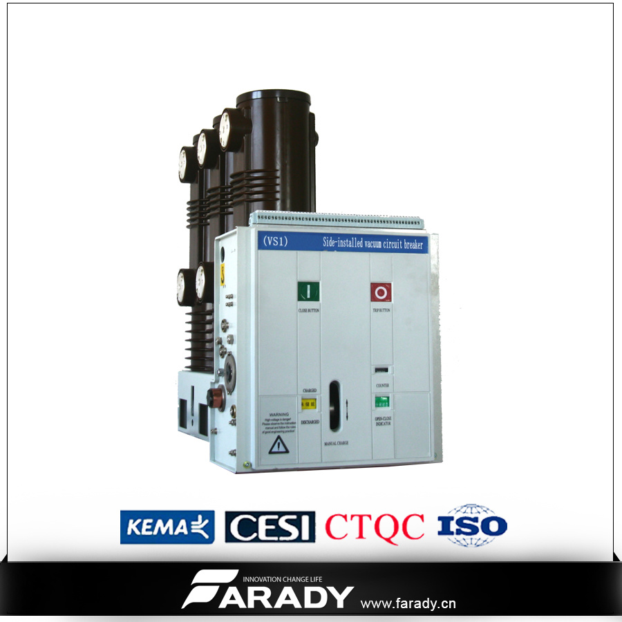 China 3 Phase Side Mounted Vcb For Switchgear Electrical Circuits Parts Of An Electric Circuit Vacuum Breaker