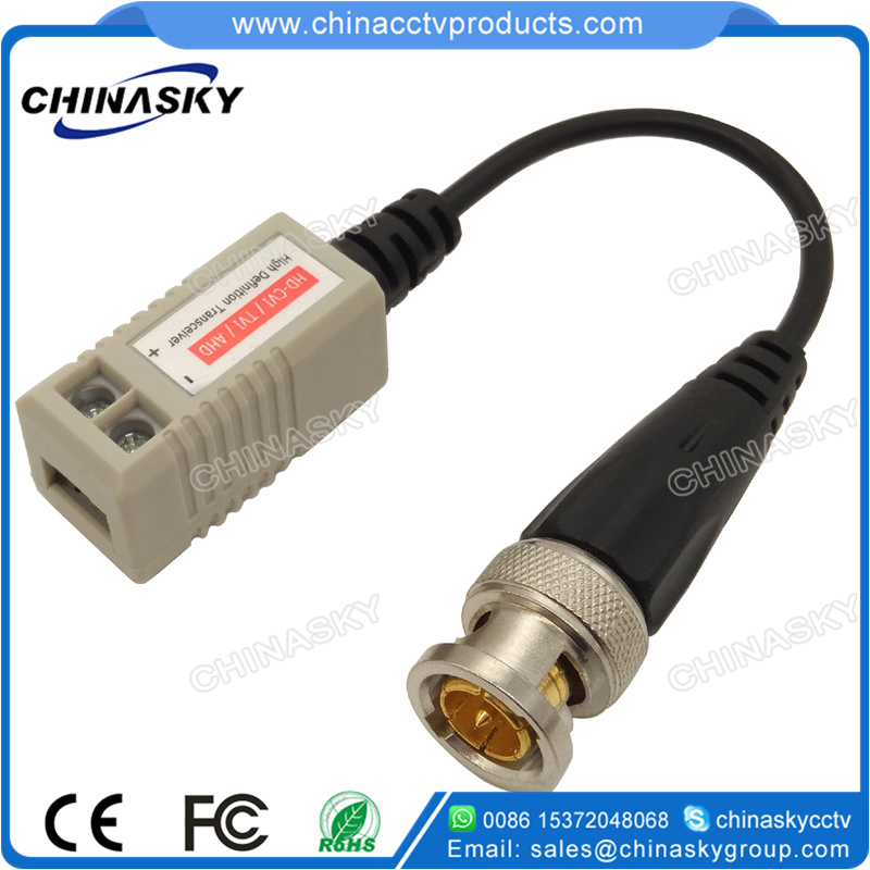 1 Channel Passive CCTV UTP Cat5 BNC Video Balun Transceiver for HD-Cvi/Tvi/Ahd Cameras (VB109pH) pictures & photos