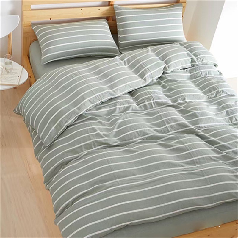 China Stone Washed Flax Linen Bedding Set Single Duvet Cover   China Pillow  Cover, Flat Sheet