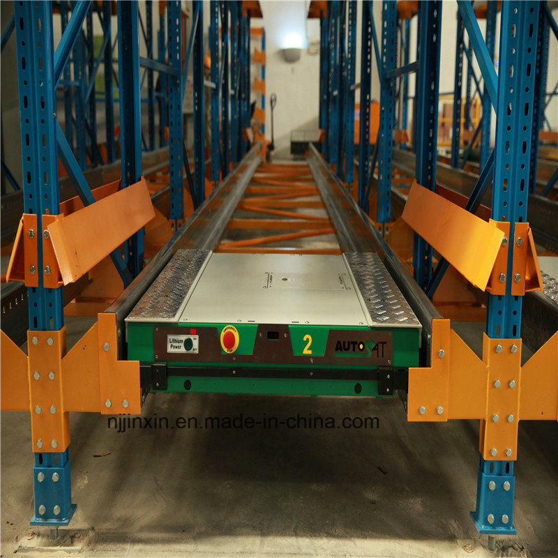 High Density Metal Storage Advanced Radio Shuttle Rack Systems pictures & photos