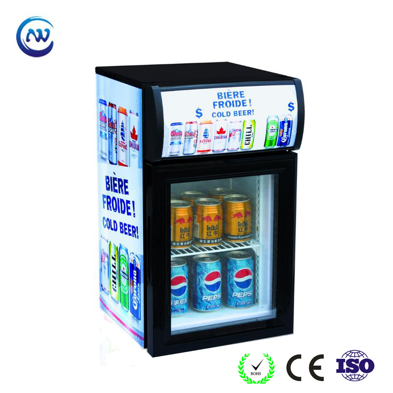 China Small Bar Fridge With Glass Door For Drink Display Jga Sc20 Refrigerator Showcase