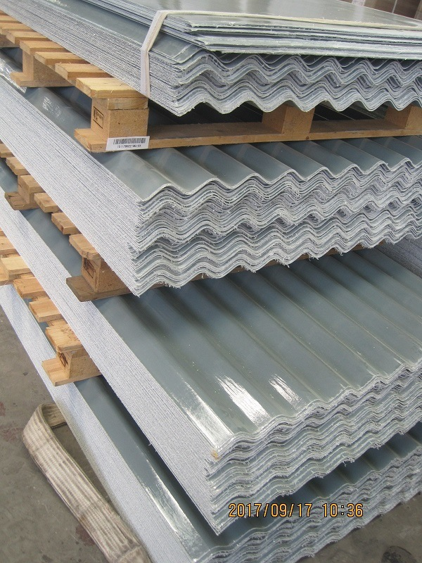 [Hot Item] Fiberglass Reinforced Plastic (FRP/GRP) Corrugated Roofing Panel