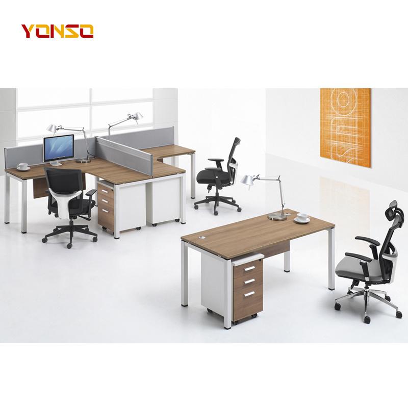 China Office Furniture Corner Desk, Inexpensive Modern Office Furniture