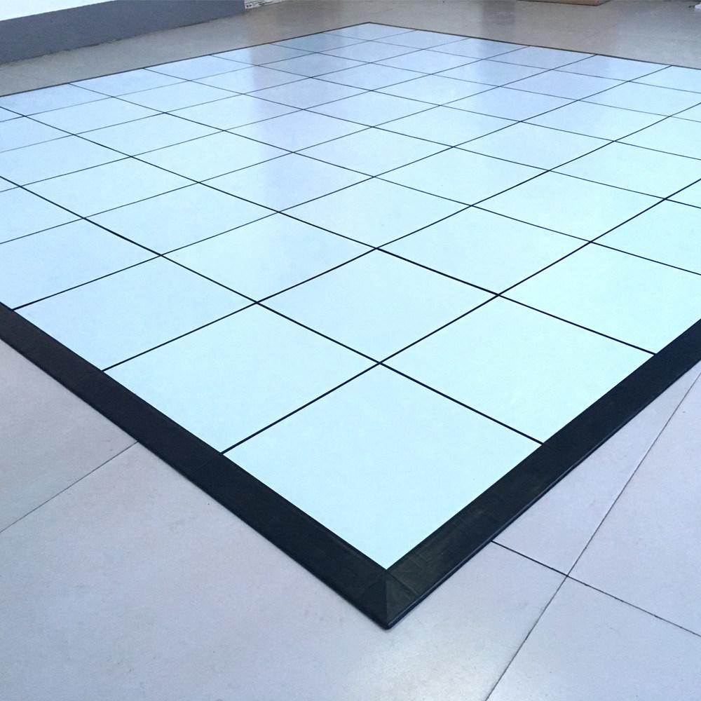 China New Vinyl Floor Tile for Event Booth/ PVC Dance Floor Tile ...