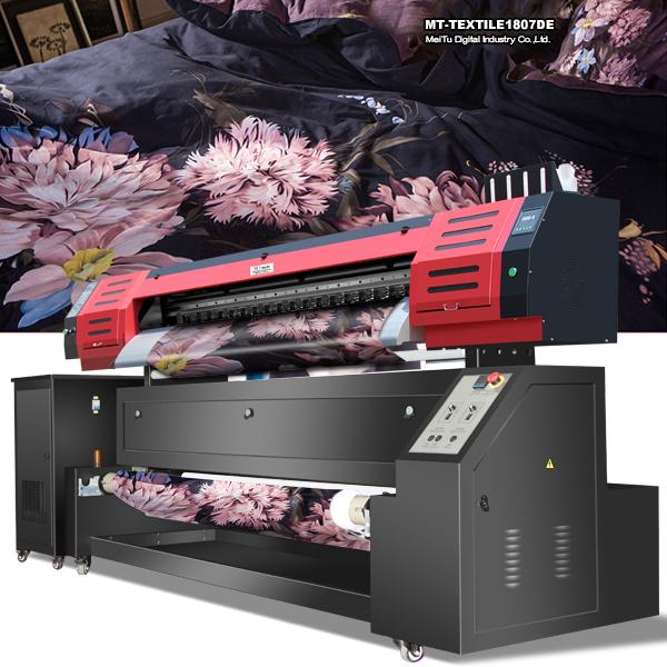 China 1 8m Digital Fabric Printing Machine Textile Printer