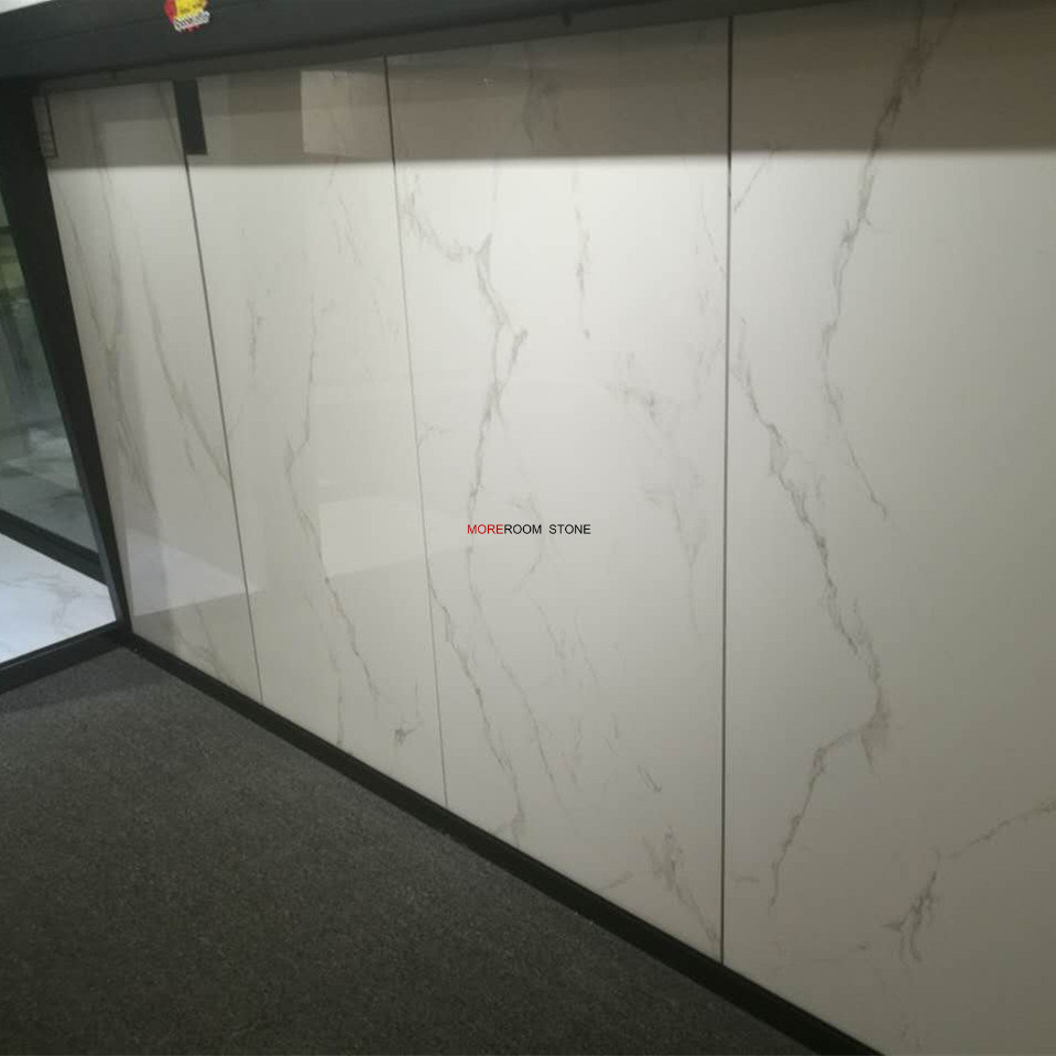 China Non Slip Floor Matte Finish White Ceramic Tile for Bathroom ...