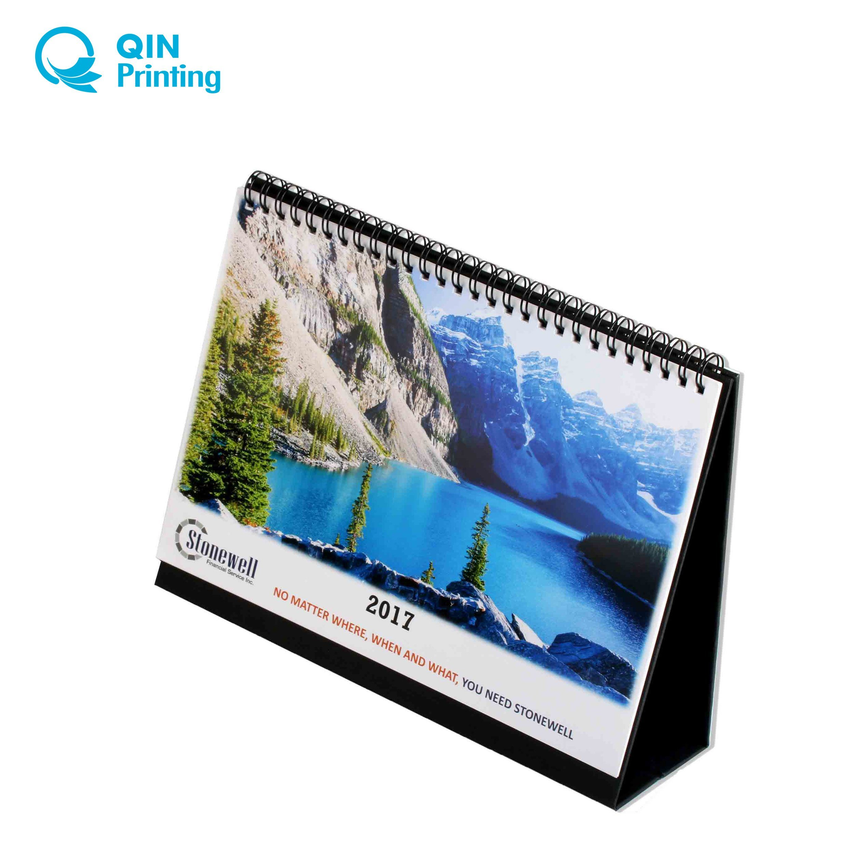 [Hot Item] Top Quality 2018 Desktop Calendar Printing