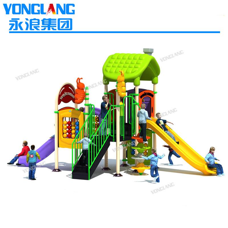 China Kids Plastic Playground Equipment, Plastic Playground Set