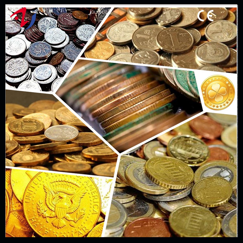 China Metal Coins Making Stamping Hydraulic Press Machine