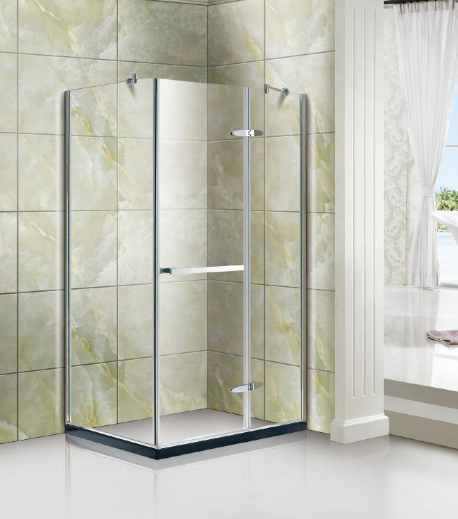 China Rectangle Shape Shower Enclosure/Shower Cubicle with Stainless ...