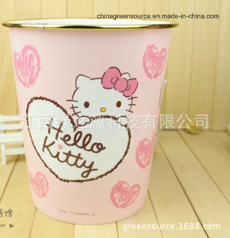 Greensource, in-Mould Labeling for Hello Kitty Trash