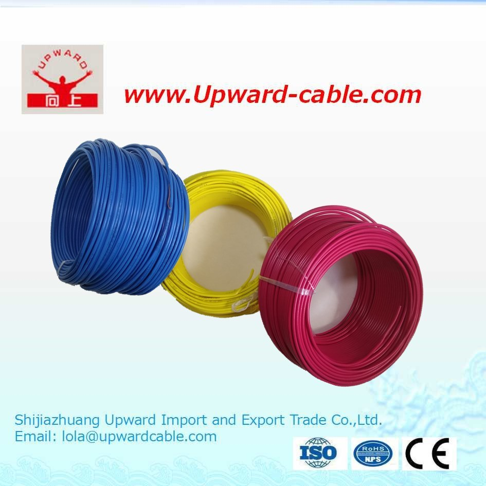 China Building Single Core Strander Copper Electrical Wire Bv Bvr Conductor Electric