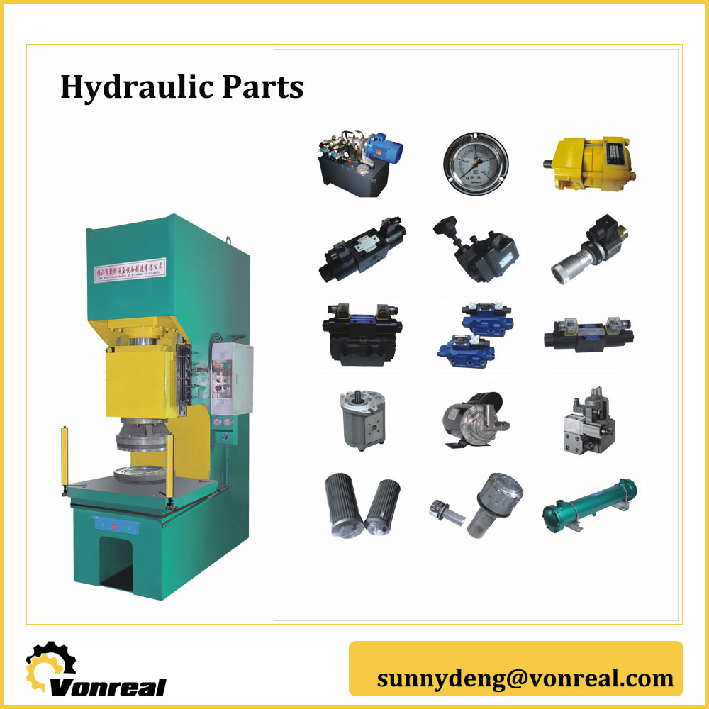 C Frame Hydraulic Press Components Parts