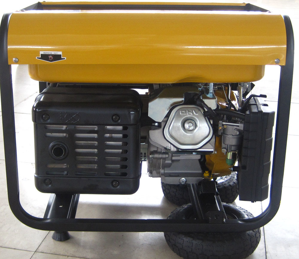 CE Single Cylinder Air Cooled Engine 5kw Gasoline Generator (WH6500/WH6500E)