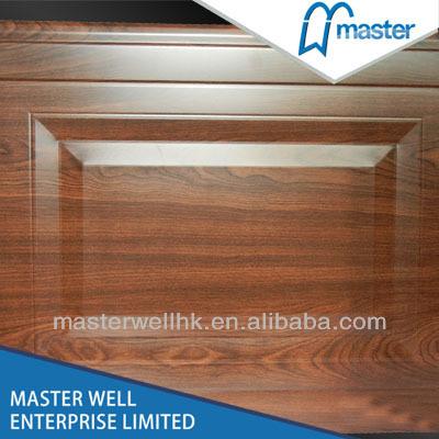 China Raised And Fielded Panels Meranti Wooden Garage Doors China