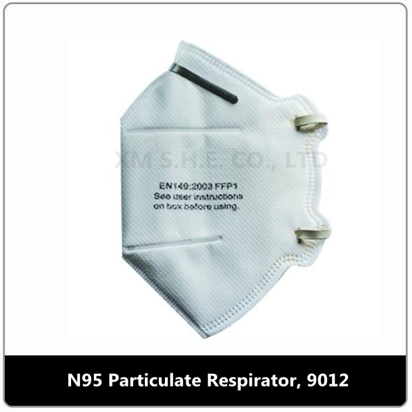 N95 Respirator Mask - 9012 9011 Particulate China