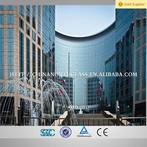 Warm Spacer Low E Insulating Curtain Wall Glass pictures & photos