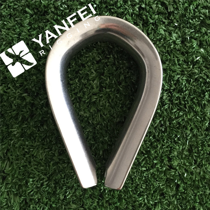 Stainless Steel Thimble for Steel Wire Rope pictures & photos