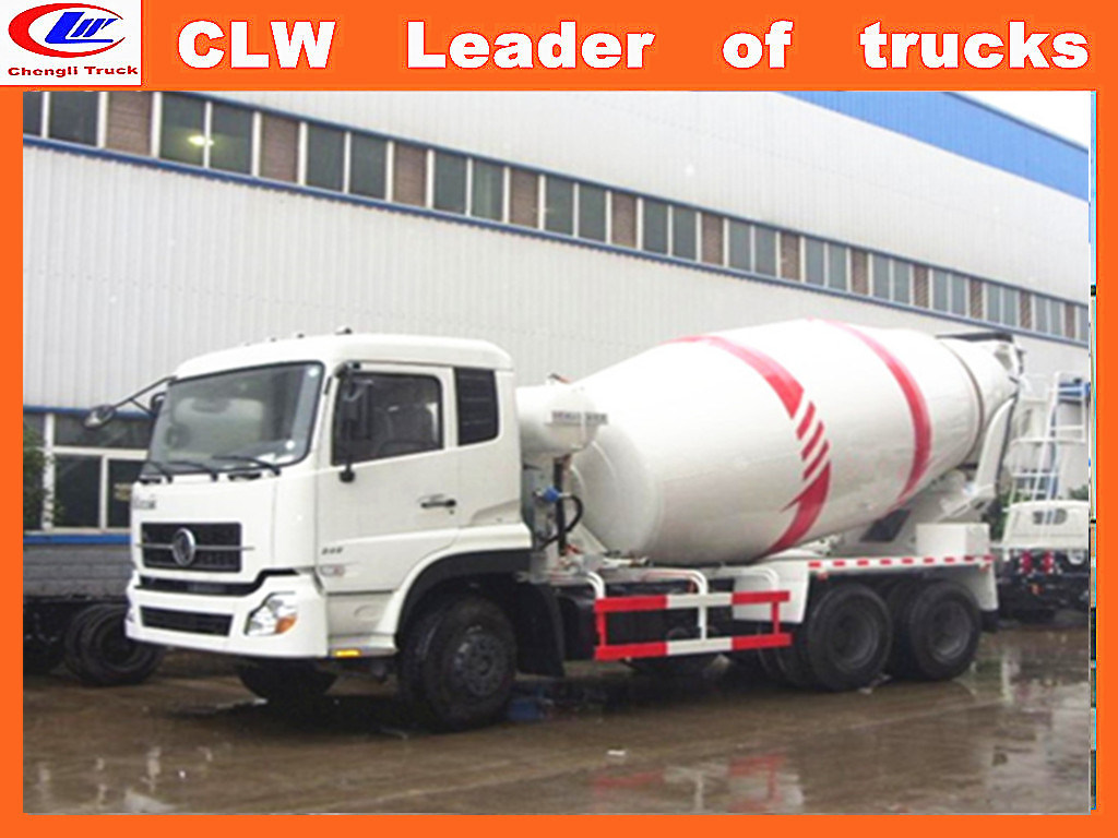 Dongfeng 6*4 Concrete Mixer Truck for 8cbm Concrete Mixer Truck